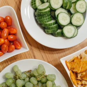 Keeping healthy in the workplace: Healthy snacks