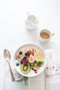 Small business productivity: healthy breakfast