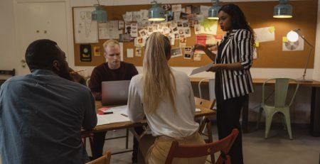 Teaching leadership skills in small business