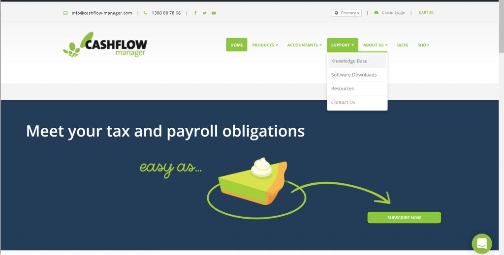 Knowledge Base: Your Cashflow Manager Help Centre | Cashflow