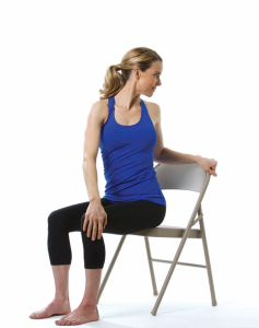 Chair Yoga: Seated Spinal Twist