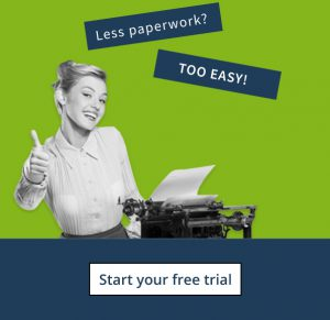 Free trial accounting software - cashflow Manager - Less paperwork
