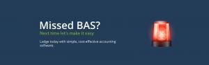 Missed BAS Lodgement Campaign - Cashflow Manager 2020